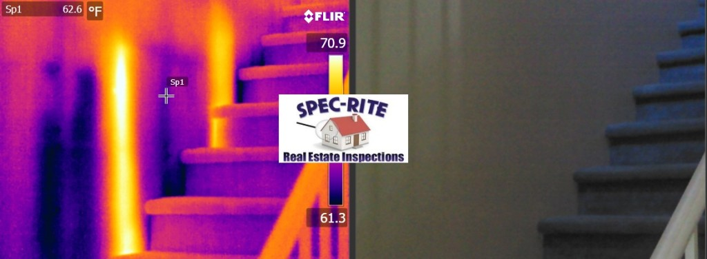 Heat Signatures during inspection