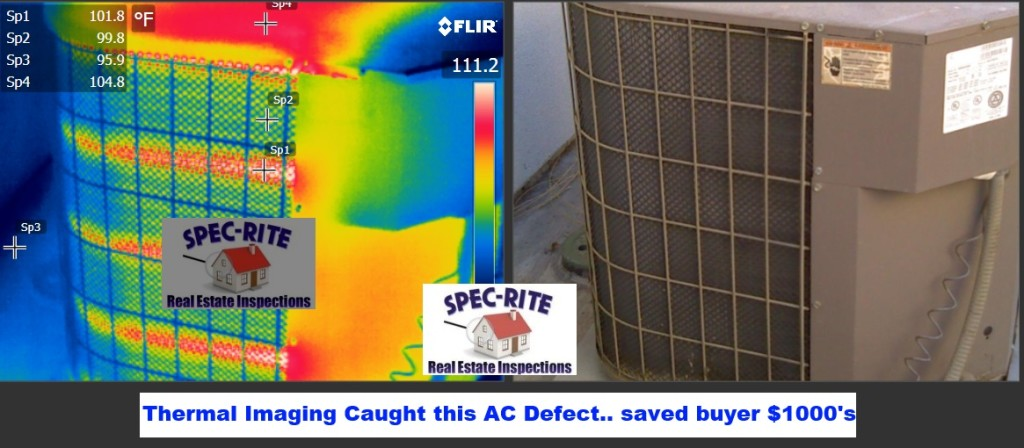 AC Condenser Defect Home Inspection